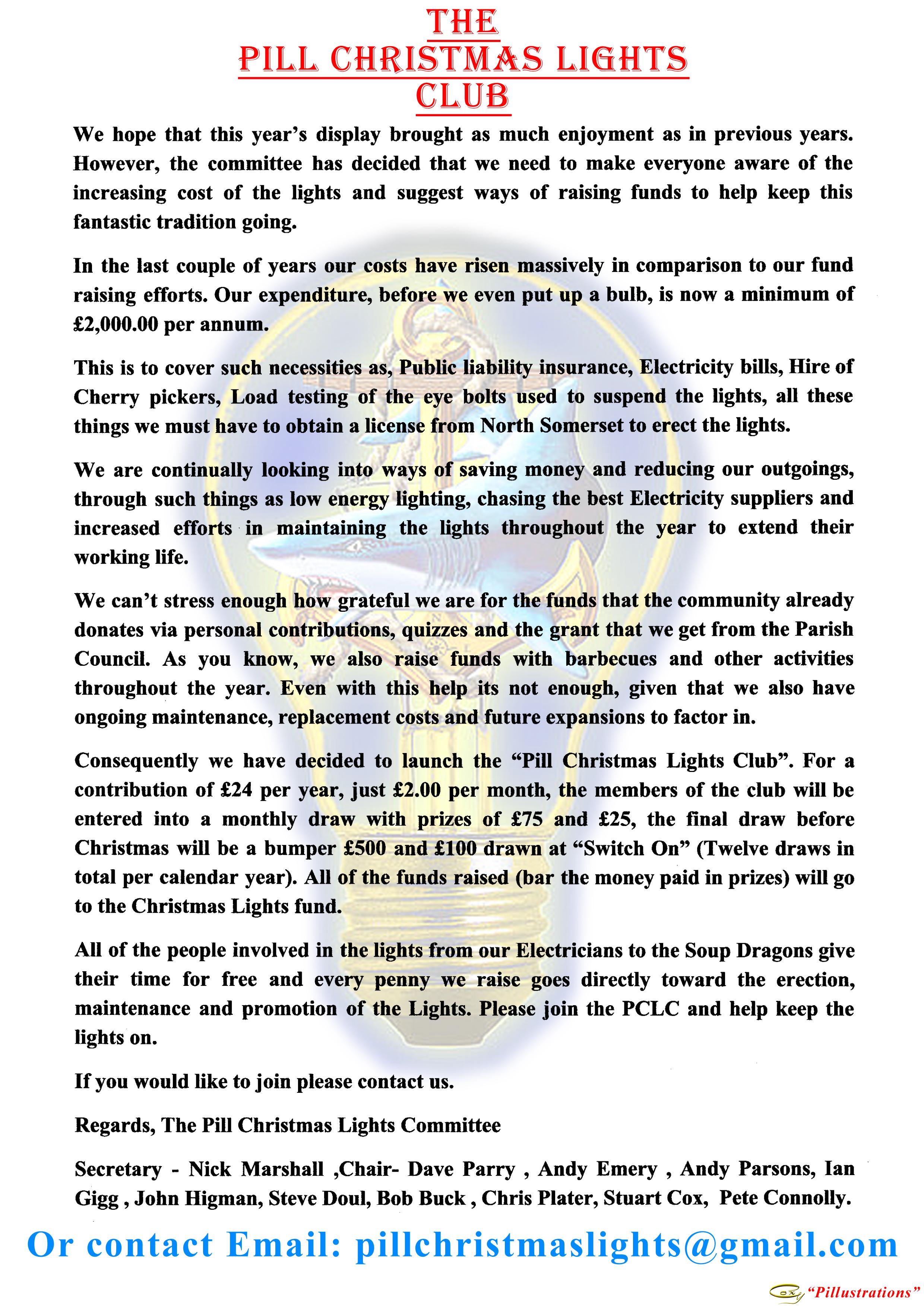 Pill Christmas Lights Easton In Gordano How Do Work Pclc Poster